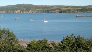 Fishguard Bay view from the hotel